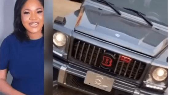 Toyin Abraham buys a Brabus G-Wagon (video) 1