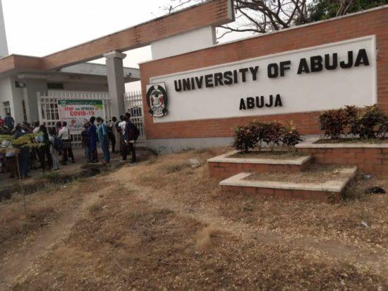 #Enduniabujaoppression: University of Abuja students on a peaceful protest (Pics) 4