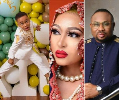 Rosy Meurer wishes Tonto Dikeh's son a happy birthday 1