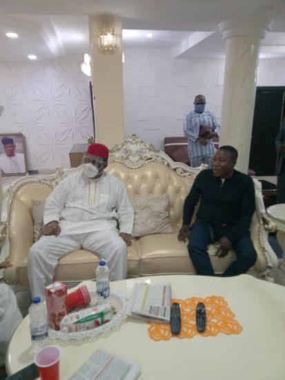 Femi Fani Kayode Visits Sunday Igboho (Photos) 4