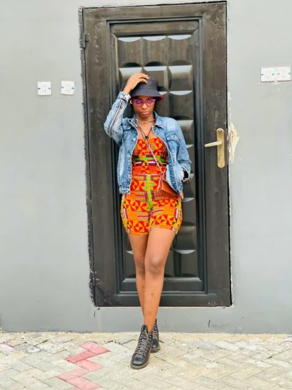 See new photos of influencer, Motara; She has moved past her o predicament 5