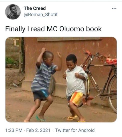 MC Oluomo's Book Goes Viral (Photos) 2