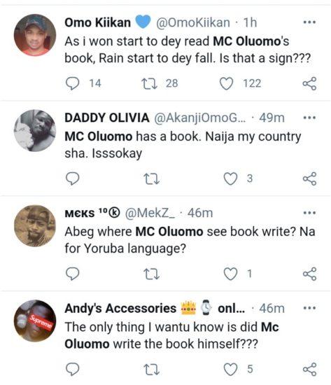 MC Oluomo's Book Goes Viral (Photos) 6