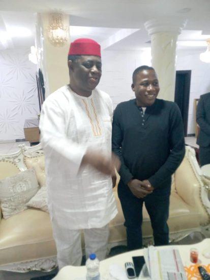 Femi Fani Kayode Visits Sunday Igboho (Photos) 2