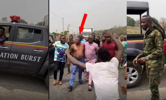 Pandemonium as DSS, police attempt to arrest Sunday Igboho 1