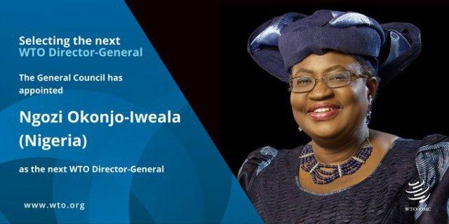 Ngozi Okonjo-Iweala is Officially World Trade Organization's Director-General 1