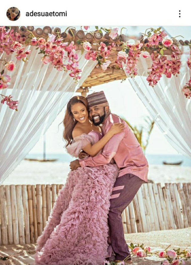 It's a Boy! Banky W and Adesua Etomi announces the birth of their First Child 3