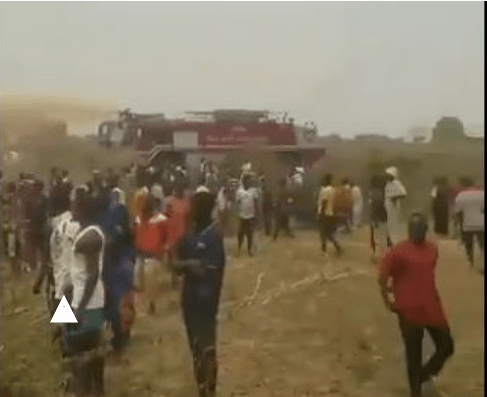 BREAKING: Military aircraft crashes in Abuja 1