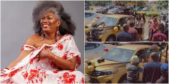 YourView TV Show Lovers Surprise Yeni Kuti With Brand New Car on Her 60th Birthday 1