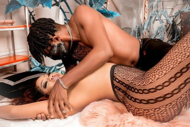 Toyin Lawani shares sultry photos of herself and her fiance, says business becomes easy when you work with your soul mate 4