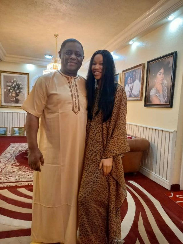 Photos; Femi Fani-Kayode finds love again in the hands of another Beauty Queen 5
