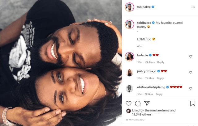 BBNaija's Tobi reveals his girlfriend and love of his life, Anu (photos) 4