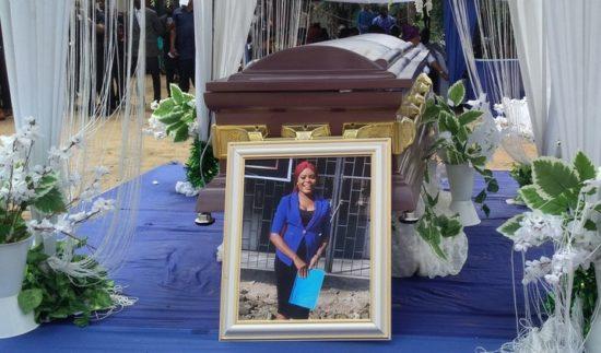 Tears As Murdered Job Seeker, Ini Umoren Is Buried In Akwa Ibom (Photos) 1