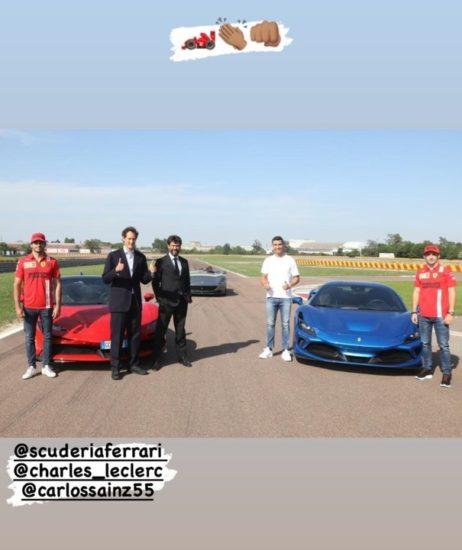 Cristiano Ronaldo Buys 'Ferrari Monza' Limited Edition Worth N740m (Photos) 1