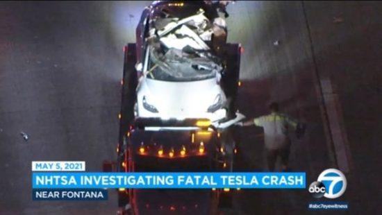 Tesla Driver Who Brags About The Car's Autopilot Feature, Dies In A Horror Crash 2