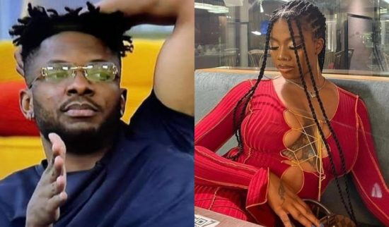 BBNaija: What happened after Angel offered Cross food amidst ignoring him 1