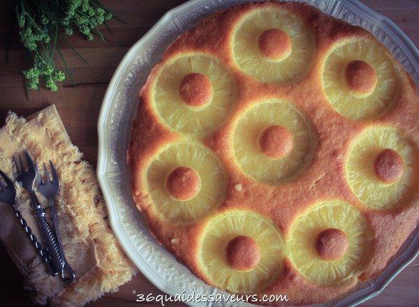 Gateau à l'ananas