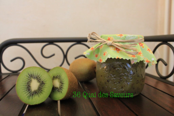 Confiture de kiwis à l'agar agar