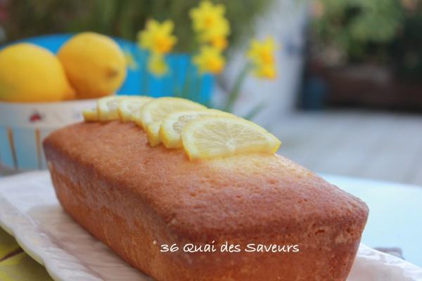 Cake au citron de Pierre Hermé