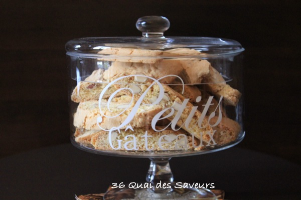 Cantuccini (croquants aux amandes)