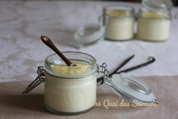 Panna cotta à la vanille de Madagascar