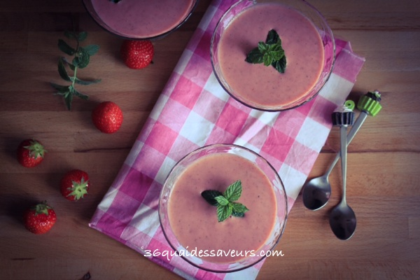 soupe de fraises thermomix