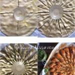 tarte soleil au pesto et pignons de pin