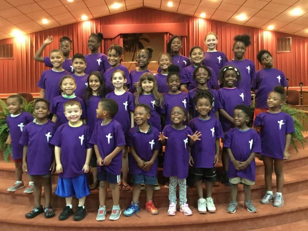 Children at The Church of Jesus Christ Apostolic
