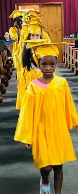 Graduates at Church