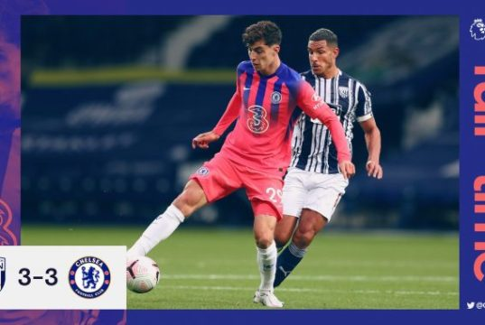Download: West Brom vs Chelsea 3-3 – Highlights
