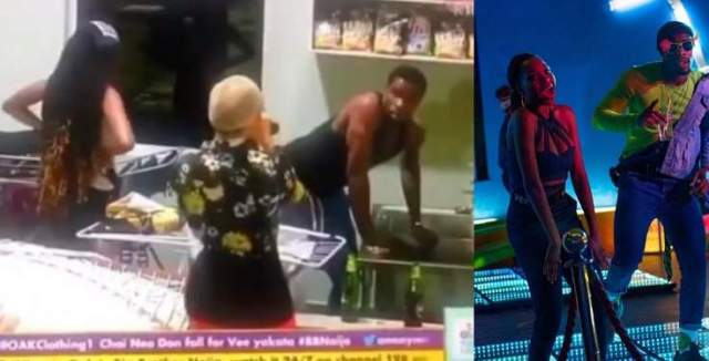 BBNaija 2020: Neo under attack for washing Vee's pant