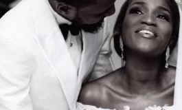 Actress Bukunmi Oluwasina Ties The Knot With Her Boyfriend of 11 Years (Photo+Video)