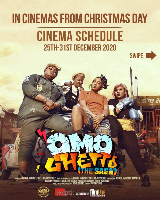 Omo Ghetto The Saga Full Movie Download MP4 HD Film by Funke Akindele