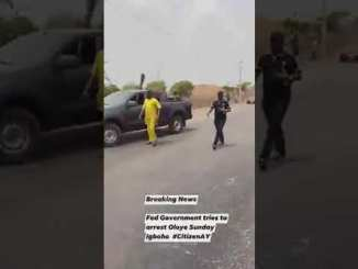 Sunday Igboho is Almost Kidnap by Federal Government today