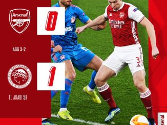 Arsenal vs Olympiacos Piraeus 0-1 – Highlights [DOWNLOAD VIDEO]