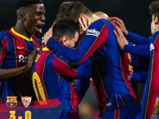 Barcelona vs Sevilla 3-0 – Highlights Download 03 March 2021 Copa Del Rey