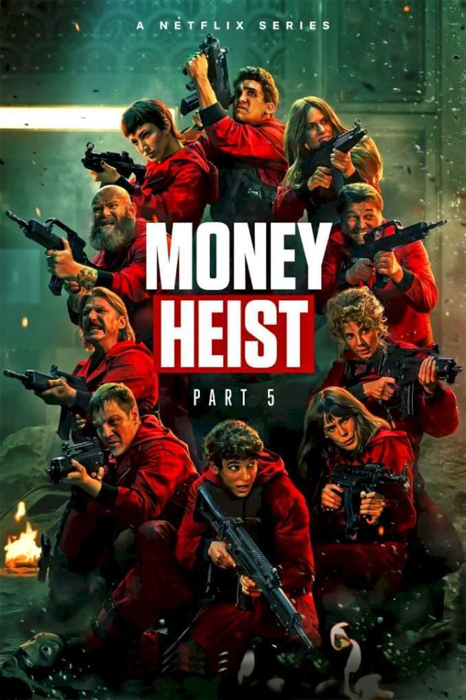Money Heist (La Casa de Papel) Season 5 Episode 1 – 5 (Volume 1) (Complete)