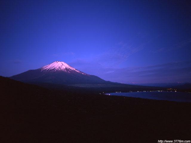 朝を待つ富士/パノラマ台