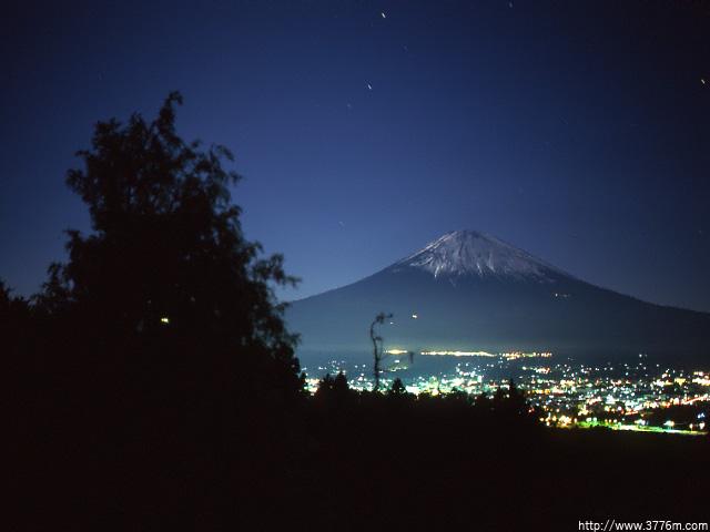 夜景富士/御殿場市