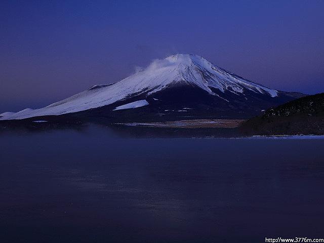 夜明け前/山中湖