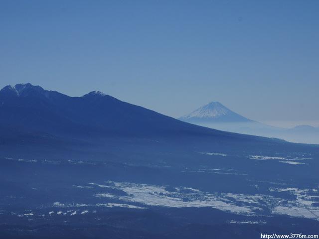 富士を望む/車山