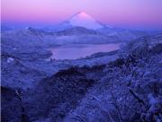 朝焼けの大観山