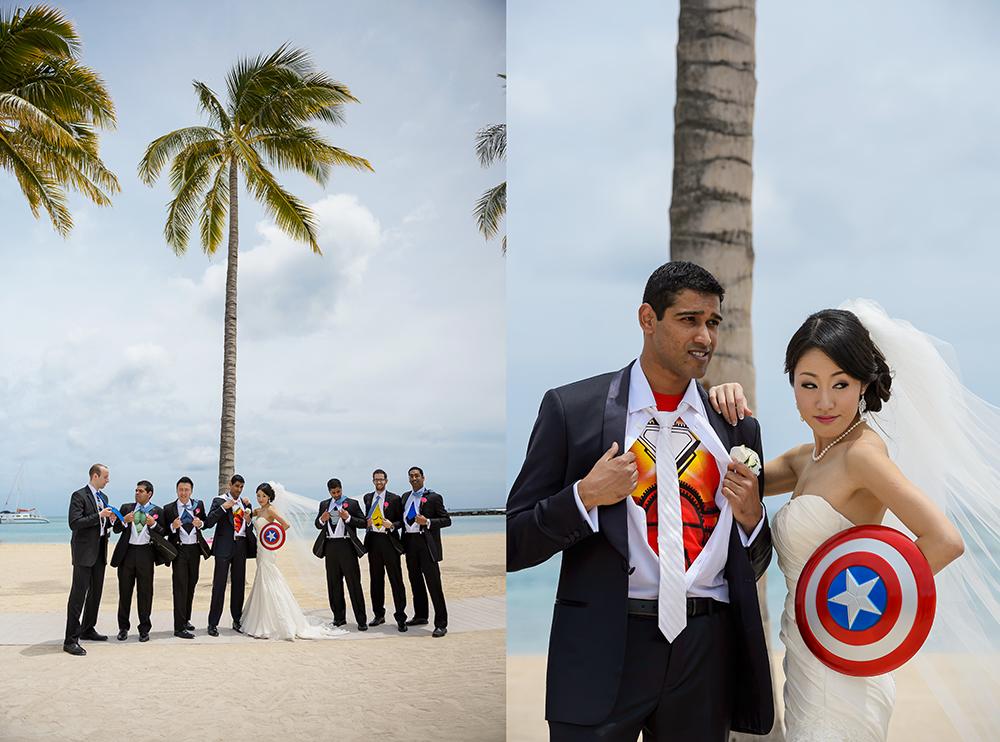 avengers superheroes groomsmen 1