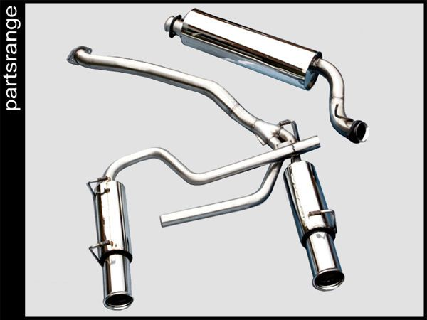 Range Rover P38 V8 Stainless Steel Cat Back Sports Exhaust