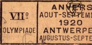 De Olympische Spelen van Antwerpen 1920 verbonden zijn met het Kamp van Beverlo?