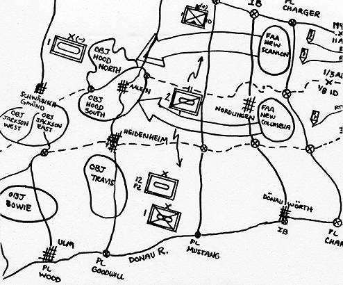 Reforger / Centurion Shield / Maneuver Map, Week 1
