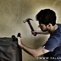 نصيحة عملية: حل بسيط وسريع لمشكلة عجلات حقائب السفر