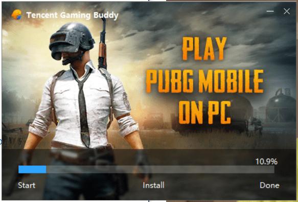تحميل برنامج Tencent Gaming Buddy لتشغيل لعبة بابجي على