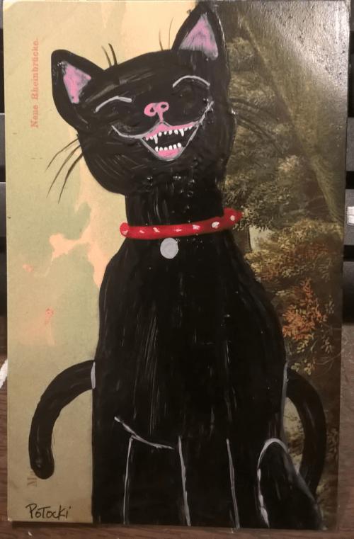 Com-laughingblackcat