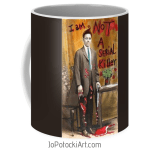 I am not a serial killer coffee mug